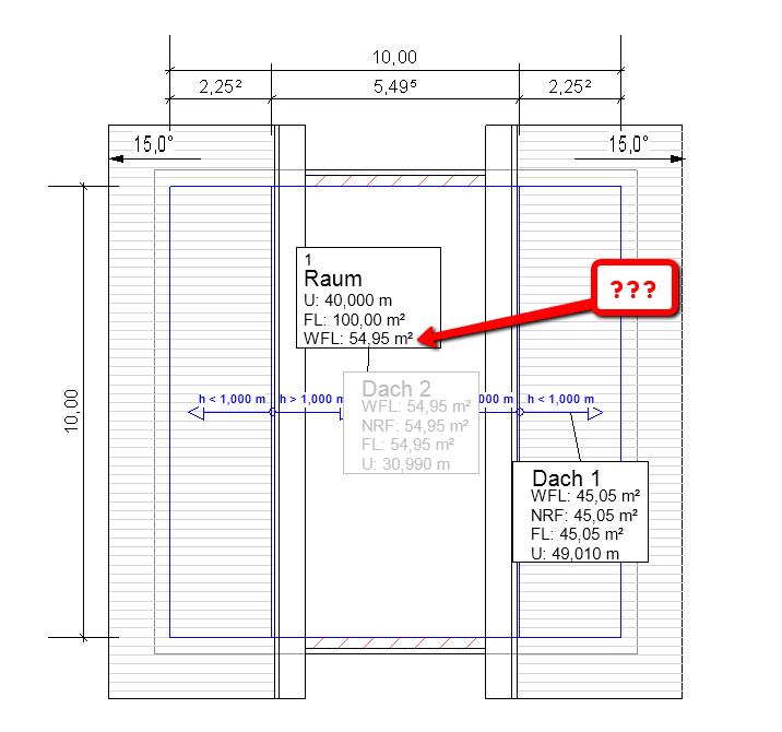 revit falsche berechnung der wohnfl che nach nderung. Black Bedroom Furniture Sets. Home Design Ideas